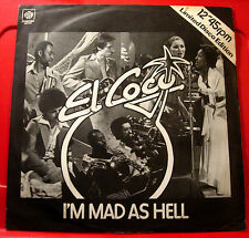 "El Coco I'm Mad As Hell 12"" PC UK ORIG 1977 Pye Under Construction/Love Vaccine"