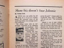 May 27-1972 Chicago Daily News TV News(JOHNNIE WHITAKER/FAMILY AFFAIR/MR. WIZARD