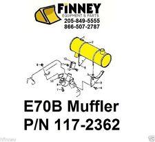 Cat Caterpillar E70B 307 Excavator NEW Muffler 117-2362 096-9205 5I9076 7I8874
