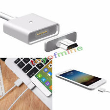 Android Micro USB Magnetic Adapter Charger Cable Metal Plug for Samsung LG HTC