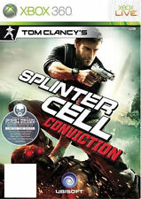 Tom Clancy's Splinter Cell Conviction & Pre-orden Pack Xbox 360