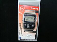 VTGE NEW, NEW OLD STOCK CASIO DBX 112 TELEMEMO 100/WORLD TIME MADE IN JAPAN