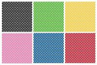 """Polka Dots Gift WRAP Rolls - 30"""" x 5'(feet) Wrapping Paper/Spots/Birthday/Party"""