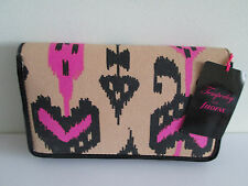*WOW* FILOFAX ORGANISER TEMPERLEY IKAT COMPACT SIZE PINK NWT CLUTCH PURSE 020370
