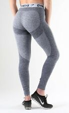 GYMSHARK Flex Leggings V3 Sapphire Blue Marl/Light Grey XS Extra Small BNWT