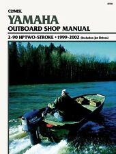 CLYMER YAMAHA 15 HP OUTBOARD TWO STROKE SHOP REPAIR SERVICE MANUAL 1999-2002
