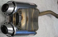 Scarico Silenzioso Exhaust Silencer Original Moto Yamaha Faella 600 S