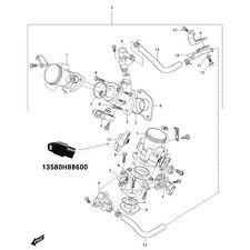 OEM Hyosung Throttle Position Sensor TPS for GV250 Mirage 250 V2C-250T EFI Model
