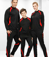 7640 New Women Men Gym Sport Football Track Suit Soccer Training Jacket+ Pant