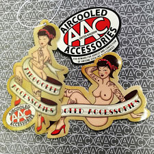 Pin Up Air Freshener + sticker x 1 with AAC sticker x 1 VW  boobs bum tattoos