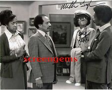 """Willie Tyler and Lester signed photo TV """"The Jeffersons"""" ventriloquist excellent"""