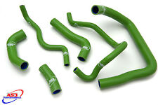 KAWASAKI ZX10R ZX 10 R 2008-2010 HIGH PERFORMANCE SILICONE RADIATOR HOSES GREEN