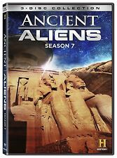 ANCIENT ALIENS : SEASON 7  -  DVD - Region 2 UK Compatible  - Sealed