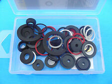55 pc Automotive Marine Aluminum Plastic Neoprene Foam Washers O-Rings Kit