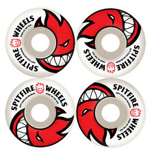 SPITFIRE 52MM BIGHEAD WHITE / RED BRAND NEW CHEAP SKATEBOARD WHEELS