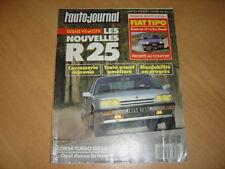 AJ N°9 1988 R25 V6.Fiat Tipo.205 XRD