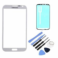 White Replacement LCD Screen Glass Lens Samsung Galaxy Note 2 II N7100 T889 i317