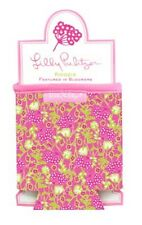LILLY PULITZER DRINK HUGGER KOOZIE BLOOMERS Pink Can Water Bottle Cooler NEW