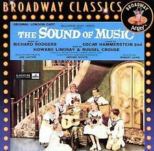 Broadway Classics: The Sound of Music [Original London Cast] (CD 1997 Angel) NEW