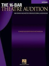 The 16-Bar Theatre Audition: Soprano