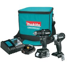 Makita CX200RB 18V LXT Sub-Compact Brushless 2-Piece Combo Kit (2.0 Ah)