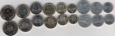 Lithuania complete set 9 coins 1 - 50 centas 1 2 5 litai Pre Euro 1991-2010 UNC