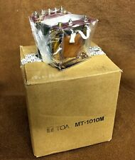NEW NOS TOA MT1010M 25/50/70.7/100V, 100W Output Transformer