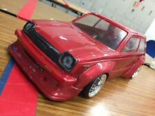PANDORA 1/10 RC TOYOTA STARLET KP61 Clear Body 200mm Drift