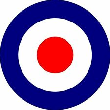 Target RAF MOD Air Force Round Symbol Logo Sticker Decal Graphic Vinyl Label