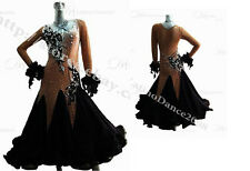Tailored Ballroom Smooth Dance Dress With High Quality Rhinestone ST116