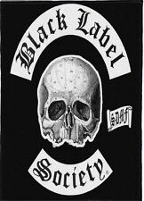 BLACK LABEL SOCIETY BACKPATCH / SPEED-THRASH-BLACK-DEATH METAL