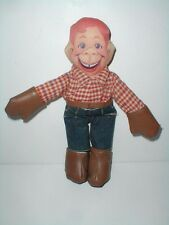 "Applause Three Cheers 10"" Howdy Doody Cowboy Cloth Stuffed Plush Rag Doll 1988"