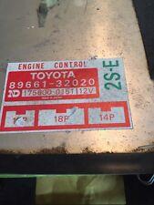 OEM 86 1986 TOYOTA CAMRY ENGINE COMPUTER CONTROL MODULE ECM ECU 8966132020