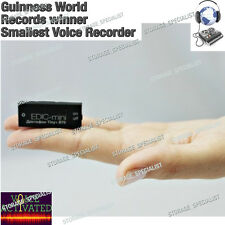 Digital Voice Recorder Edic Mini Tiny+ B70 Listening Device Activated No Spy MIC