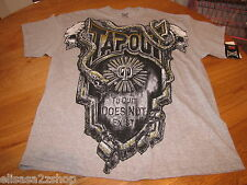 TAPOUT UFC MMA mens shirt Heather Grey 3394326-07 L NWT *^