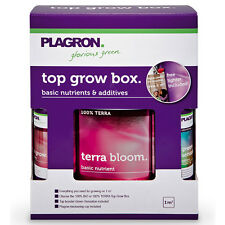 Plagron Top Grow Box 100% Terra soil kit fertilizzanti coltivazione indoor g