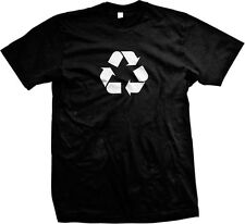 Recycle Sign Environment Protection Save The Earth Go Green Nerdy Men's T-shirt