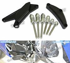 Nero Motore Copertura Sliders Protezione Per 2006-2010 SUZUKI GSXR GSX-R 600 750