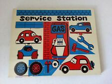 Vintage Mego Woody's Puzzle Blocks - Service Station