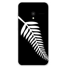 Coque Alcatel One Touch Pixi 3(4.5) Silicone Gel qualité FR - Drapeau All Black