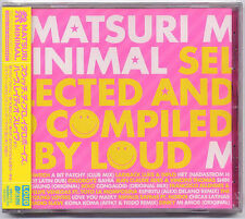 Matsuri Minimal Selected By Loud Japan 10-trk promo sample CD SEALED