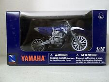2014 NEW RAY 1/18 SCALE 2008 YAMAHA YZ450F YZ 450F BLUE MOTOCROSS