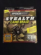 Spiderwire Stealth Camo Braid - 20lb 300yards