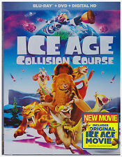 ICE AGE COLLISION COURSE (Blu-ray/DVD, Digital Copy, 2016) NEW WITH SLEEVE