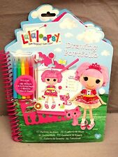 Lalaloopsy Drawing Portfolio Large 260 Stickers - Stencils - 40 Pages NEW CUTE