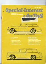 Hemmings SPECIAL INTEREST AUTO -SIA  VOL 3, #1 The Nineth issue