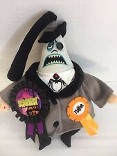 "Disney Store Nightmare Before Christmas 11"" Plush Mayor Swivel Head Halloween"