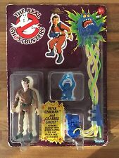 KENNER THE REAL GHOSTBUSTERS PETER VENKMAN ACTION FIGURE CARDED VINTAGE RARE