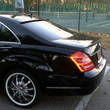 PAINTED MERCEDES BENZ W221 S CLASS ROOF & TRUNK BOOT SPOILER WING *