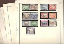 ADEN, Excellent Assortment of Stamps hinged/mounted on Scott pages